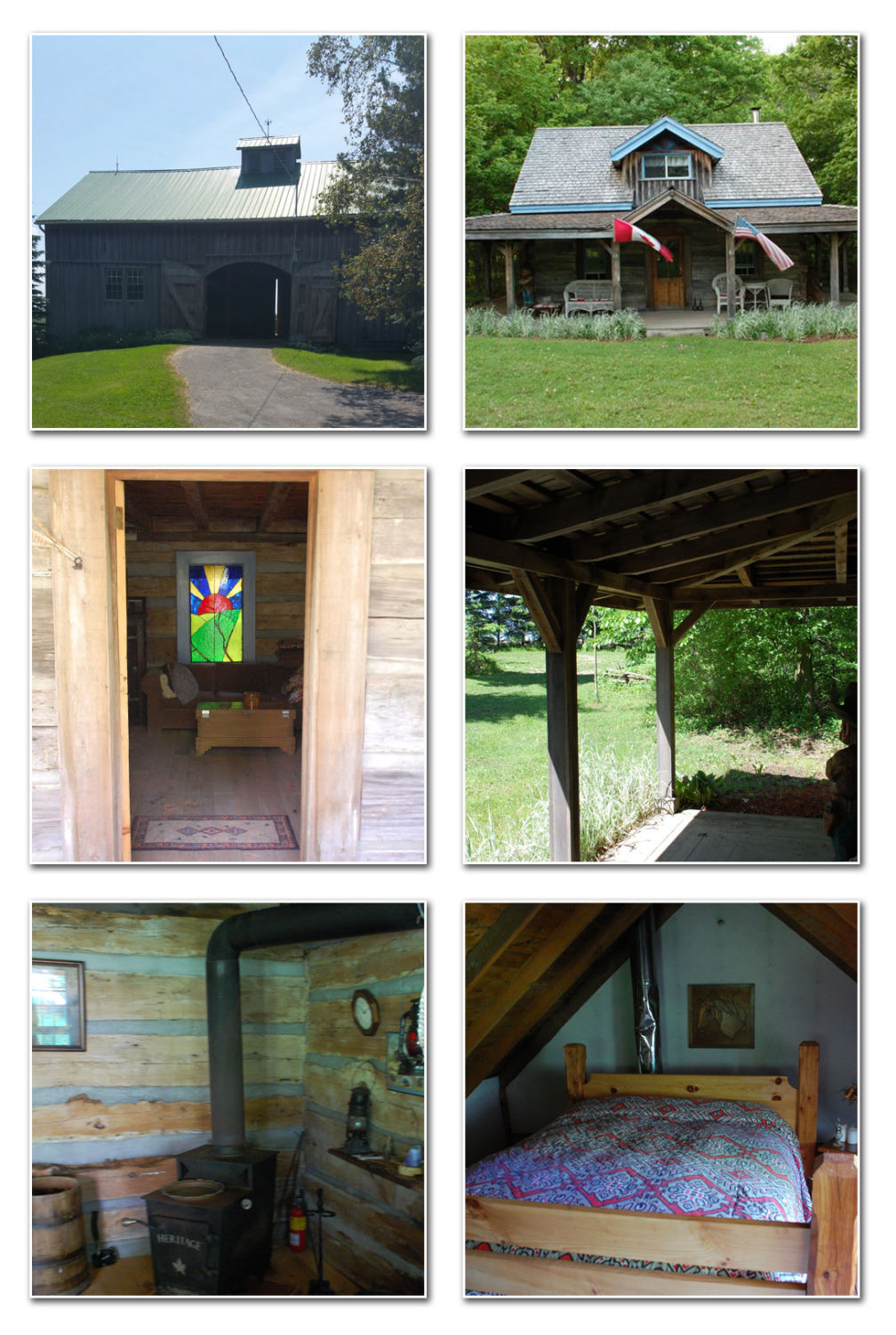 1850 Barn and Cabin Page