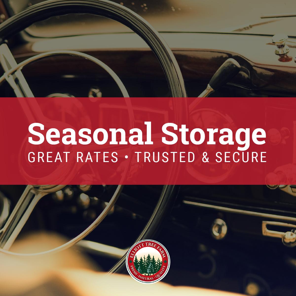 Antique car storage