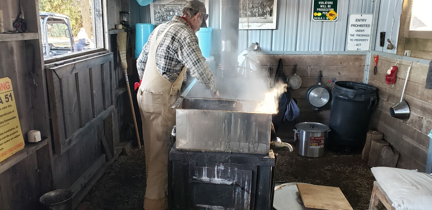 maple syrup shack process