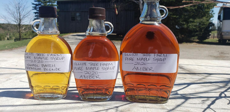 elliott tree farm maple syrup